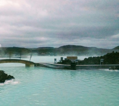 My pictures do not do the Blue Lagoon any sort of justice. Good to be back in some midnight sun...