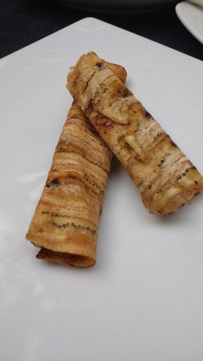 Rolled sweet banana things...