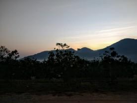 Sunrise on day 11