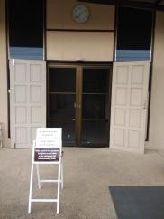 Entrance to meditation hall