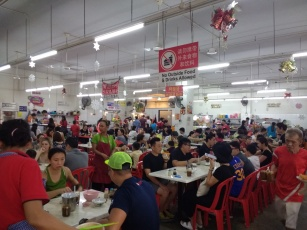 Food court with lots of great local options
