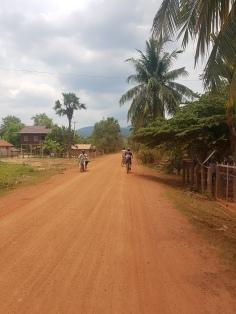 Biking around Chambok