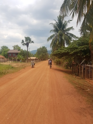 Biking around Chambok