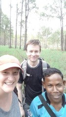 Me, The Dane, and our amazing guide!